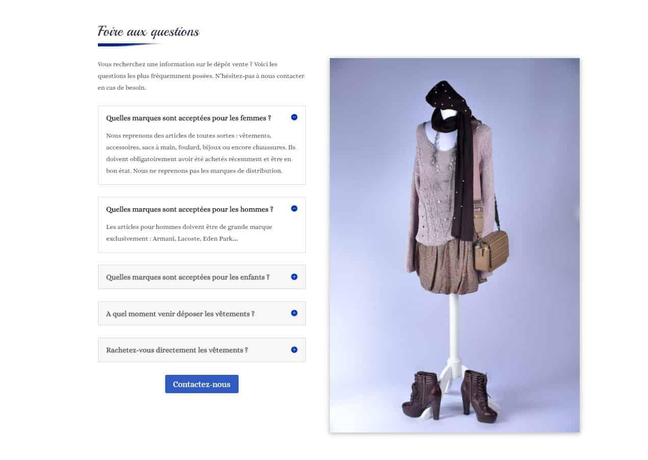 Site web Plaisir Troc