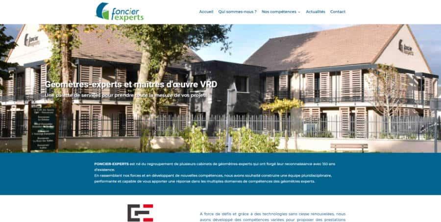 Site web Foncier-Experts